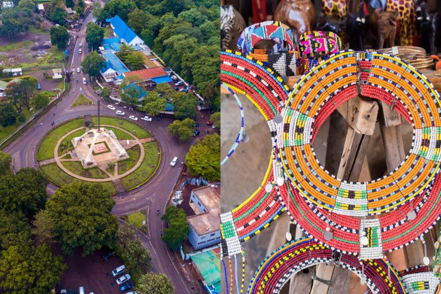 Combi Arusha City Tour & Maasai Market