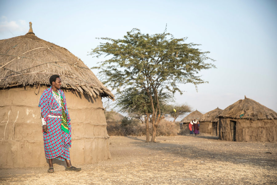 Maasai Boma Tour – Mto wa Mbu (non P&W vehicle)