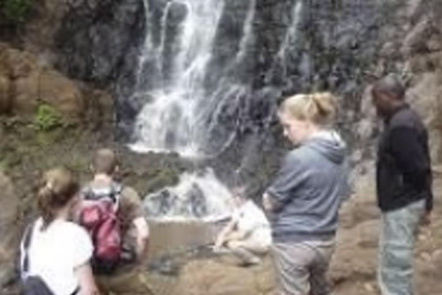 Miwaleni Waterfall + Lake tour